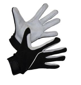 Fleecehandschuhe Kerbl schwarz grau